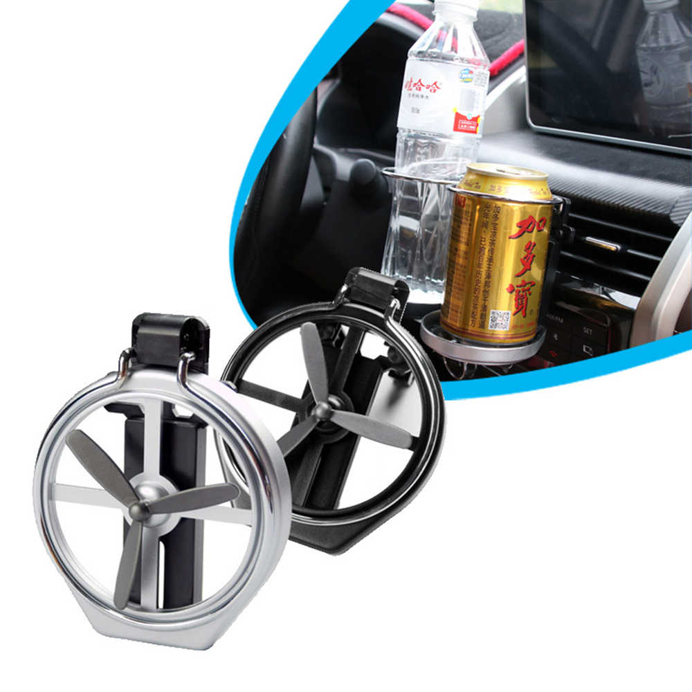 Universal Foldable Drink Bottle Cup Holder Rack Trunk Car Air Outlet Mount Car Accessories