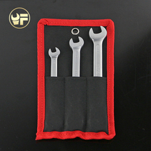 YOFE NEW Canvas Bag 8,10,13mm Ratchet Spanner Combination wrench a set of key ratchet skate tool gear ring wrench ratchet handle