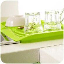 New Dishes Sink Drain And Plastic Filter Plate Storage Rack Drain Board Kitchen Shelving Kitchen Cocina Shelf Prateleira Rack