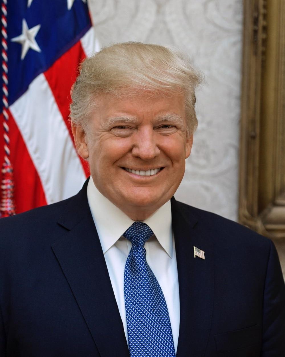 Full Square/Round Diamond Diamond Embroidery US President Donald Trump 5D DIY Diamond Cross Rhinestone Mosaic Home Decoration