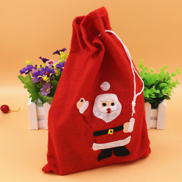 Christmas gift bags trumpet candy beam mouth gift bag christmas ...