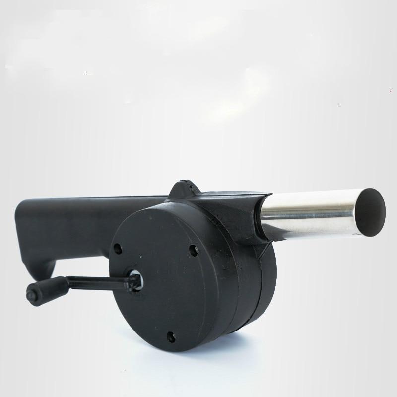 Manual Portable Fan Air Soprador De Ar Hand Crank Blower Outdoor Barbecue Necessary