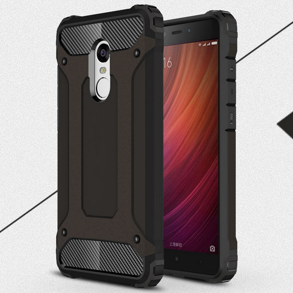 Luxury hard armor shockproof silicone cover case for xiaomi redmi note 4 3 pro ebay - Xiaomi redmi note 4 case ...