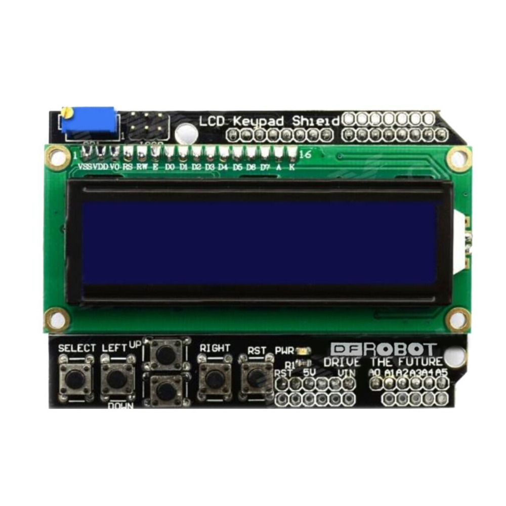keyes 1602 LCD display/character LCD input/output shield for Arduino