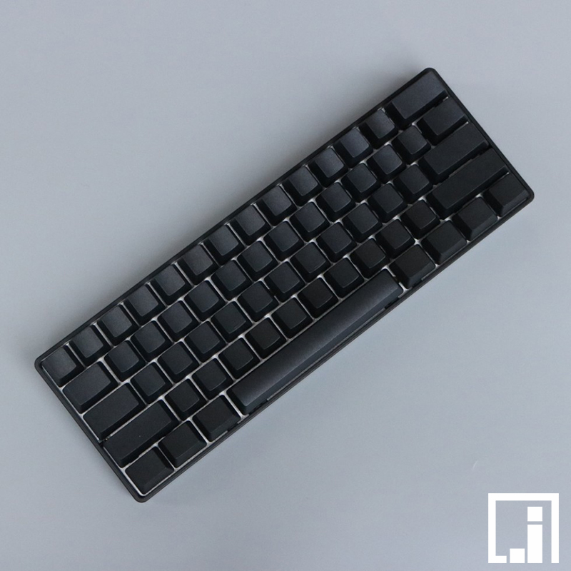PBT <font><b>keycap</b></font> only for mechanical Keyboard cherry mx OEM black blank PBT 87 keyboard 104 poker 61 keyboard <font><b>60</b></font>% full keyboard image