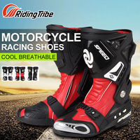 Riding Tribe Motorcycle Riding Boots Motocross Off road Racing Long Shoes Motorbike Accessories Boots Outdoor Sports Riding Men