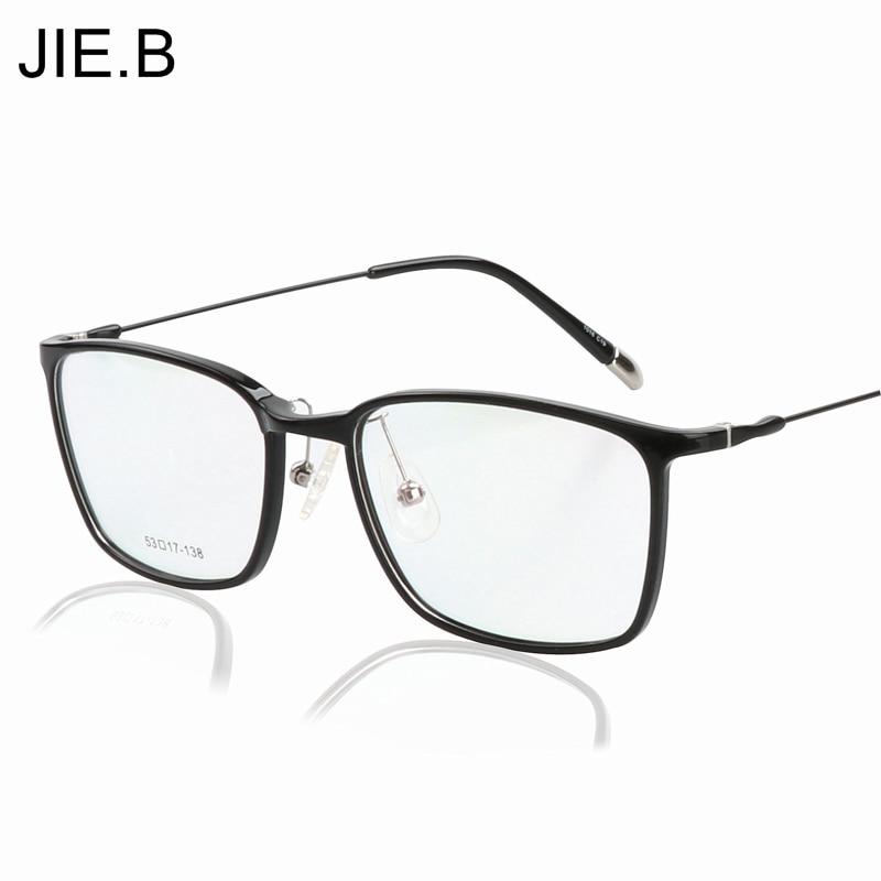 Műanyag titán szemüveg keret Férfiak Számítógép védőszemüveg Kék lézer fáradtság Szemüvegek Szemüveg Váz fém Legs Oculos de grau