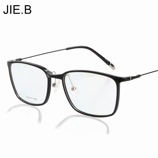 Plastic Titanium Glasses Frame Men Computer Goggles Anti Blue Laser ...