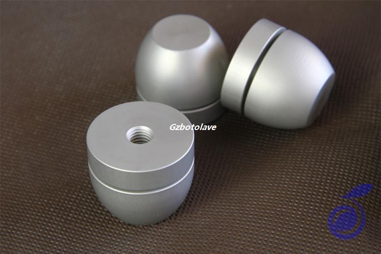 4 pièces FE aluminium bibliothèque haut-parleurs amplificateur CD décodeur amortissement choc pieds