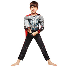 2017 Classic Boys Girls Thor The Avengers Muscle Cosplay Halloween Costumes Kids Children Carnival party fancy dress