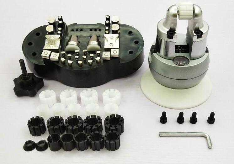 Jewelry GRS Standard Engraving Block Mini Ball Vise Jewelry Vises with 20 Pieces Accessories