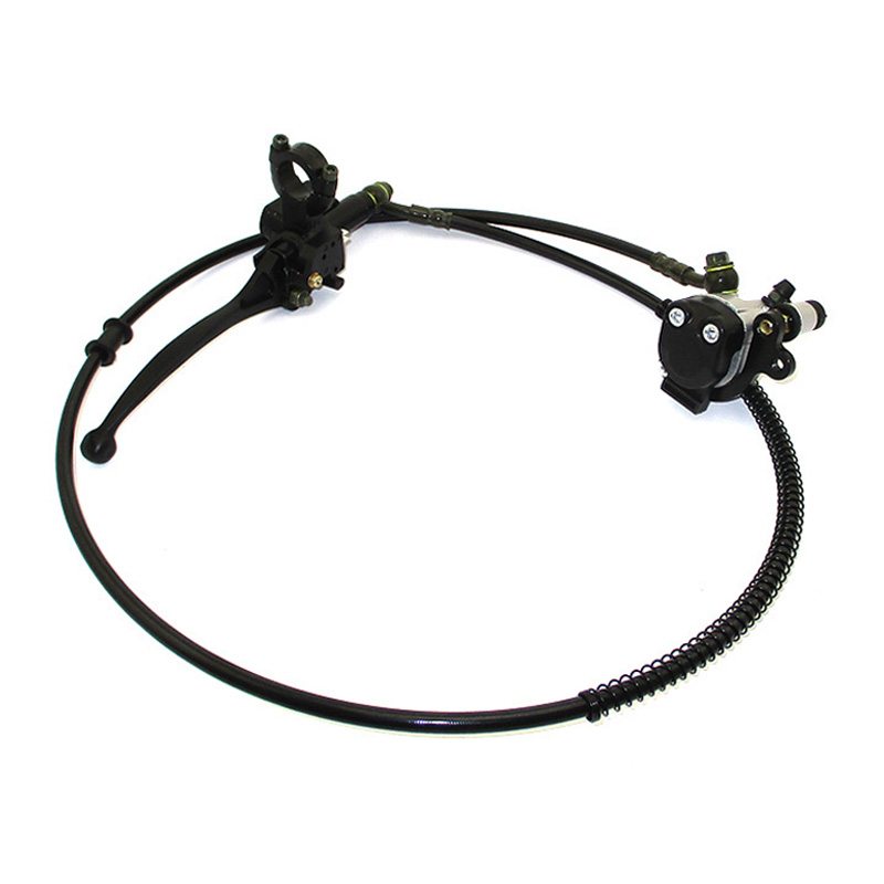 XLJOY Mini Bike Upgraded Left Hydraulic Brake System 50 Hose for Mini Bike Baja Doodlebug DB30