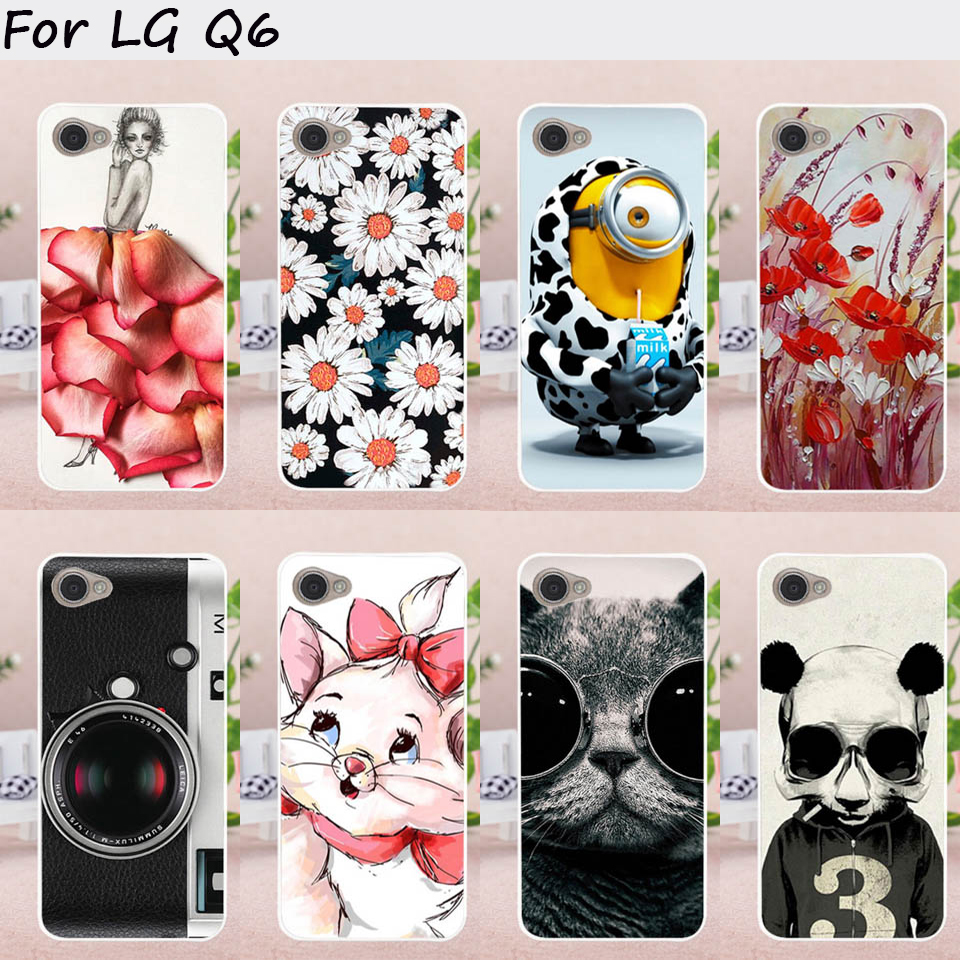 TAOYUNXI Mobile Phone Cases for LG Q6 Cover G6 Mini M700N M700A M700DSK M700AN Q6+ Q6 Plus M703 X600 Case Plastic TPU Bag Skin