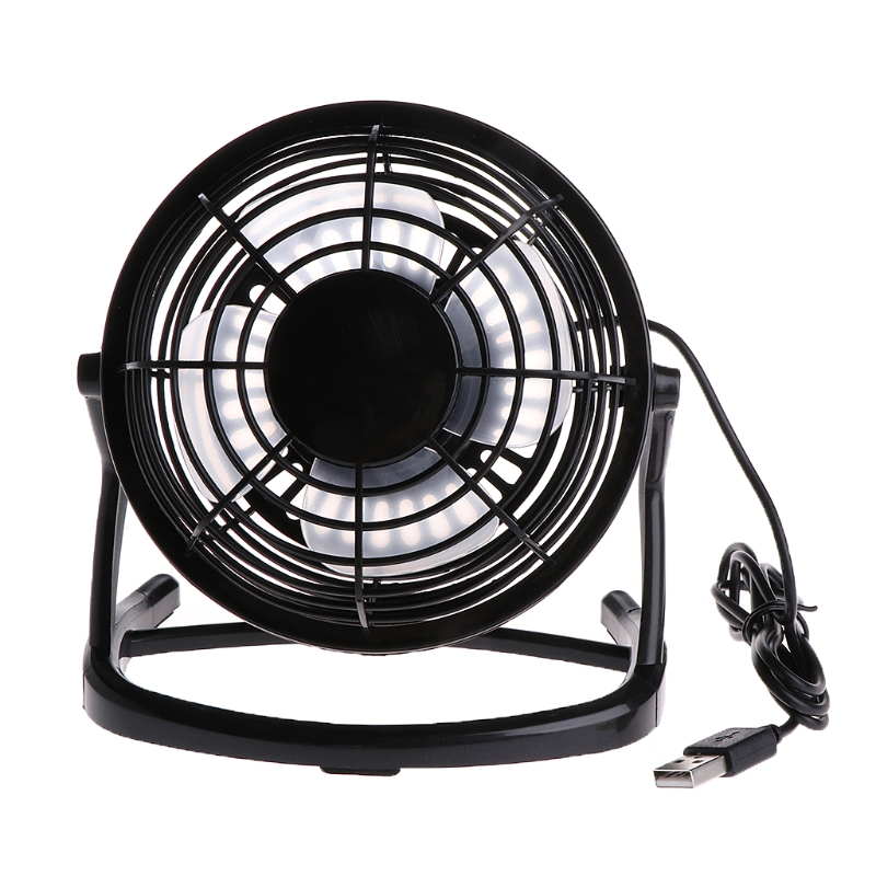 Hearty Notebook Laptop Computer Portable Super Mute Pc Usb Cooler Desk Mini Fan Black H Air Conditioning Appliance Parts