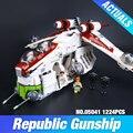 New Lepin 05041 Genuine Star War Series The The Republic Gunship Set Educational Building Blocks Bricks Educational Toys 75021