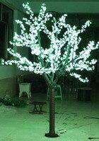 6ft 1,8 м светодио дный Cherry Blossom дерево Крытый Рождество Свадьба Сад праздник света деко 1040 светодио дный s Водонепроницаемый 7 цветов вариант