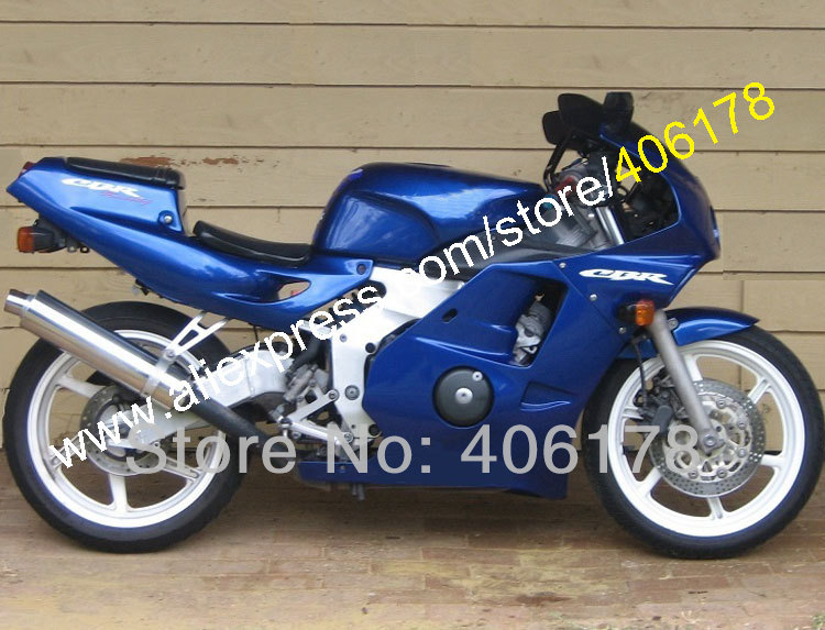 Cheap Price For <font><b>cbr250rr</b></font> mc22 1990-1994 cbr250 Motorcycle Bodywrk All Blue ABS <font><b>fairing</b></font> <font><b>kit</b></font> (Injection molding) image