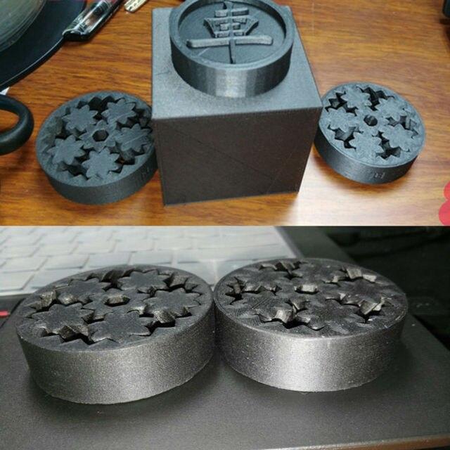 Ultimaker Makerbot CR10 3D 프린터 용 T-PLA 필라멘트를 기반으로 한 1.75mm 3D 인쇄 플라스틱 소재 탄소 섬유 플러스 필라멘트