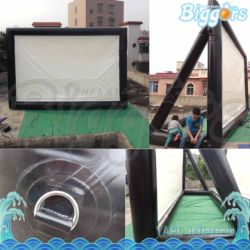 Best Quality Inflatable Movie Screens For Advertising Outdoor Backyard Home Theater Screen inflatable cartoon customized advertising giant christmas inflatable santa claus for christmas outdoor decoration