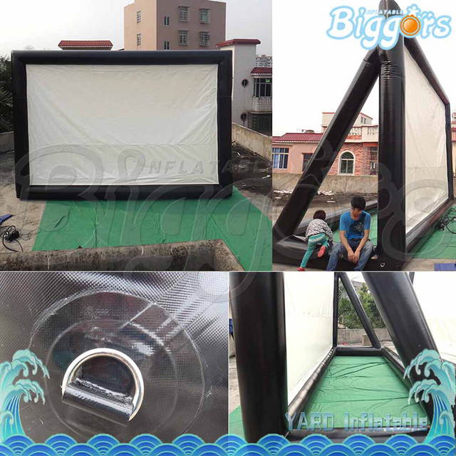 Best Quality Inflatable Movie Screens For Advertising Outdoor Backyard Home  Theater Screen