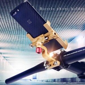 Image 2 - URANT porte moto en aluminium, guidon rotatif à 360 degrés, support de bicyclette pour téléphone portable, support de téléphone GPS