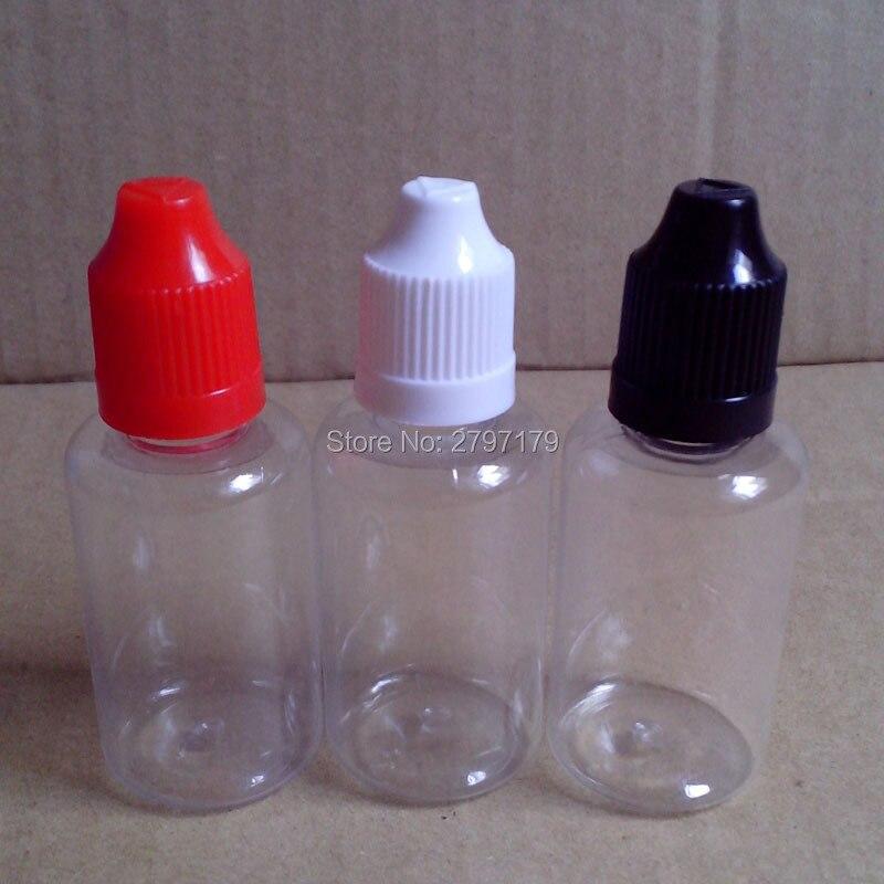 30ml E-liquid PET Clear Plastic Bottle With Childproof Cap Eye Drop Bottle For E Liquid Empty Dropper Bottle 150pcs 5pcs pack 30ml e juice refiller semi transparent electric cigarette e liquid juice bottle with needle tip