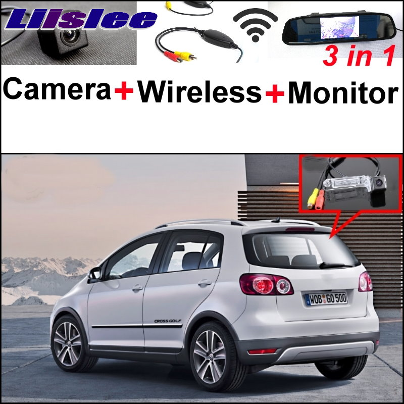 Liislee For VW Volkswagen Golf Plus CrossGolf Cross Golf Special Camera + Wireless Receiver + Mirror Monitor Easy Parking System коврики в салон volkswagen golf plus 04 полиуретан