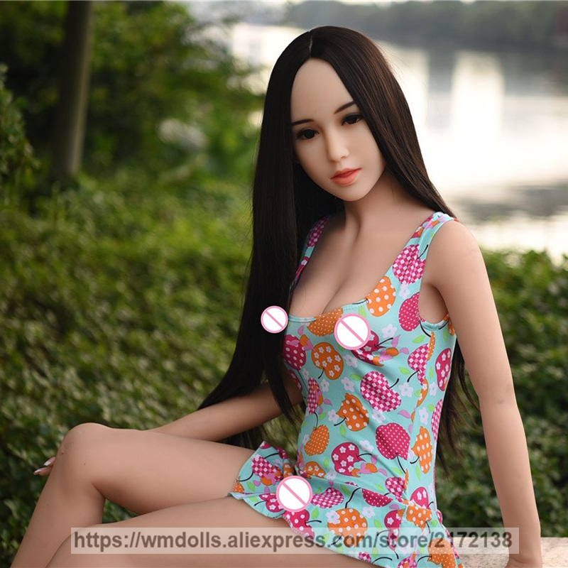 WMDOLL 153cm Top quality TPE Full Silicone Sex Doll Realistic Japanese Love Real Adult Toys Lifelike Small Breast