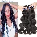 10A Grade Virgin Unprocessed Human Hair Extensions Brazilian Virgin Hair Body Wave 4 Bundles Queen Hair Brazilian Body Wave