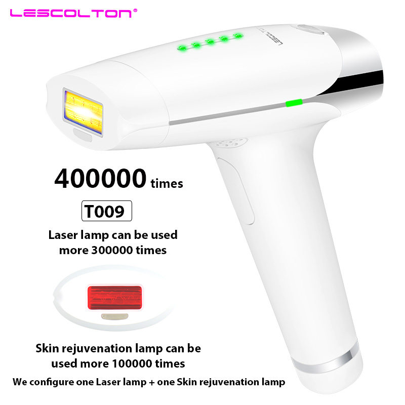 Lescolton Laser Hair Removal Device t009 Permanent Hair Removal IPL laser Epilator Armpit Hair Removal to Remove Lip Legs Bikini