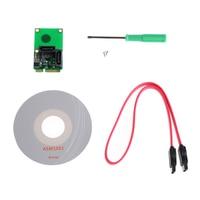 2 Port SATA 6G Mini PCI Express Controller Card PCI E To SATA3 0 2xSATA3 Cable