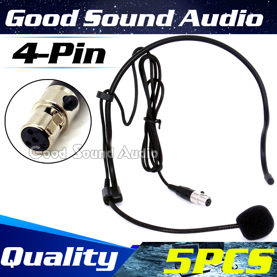 5pcs mini xlr 4 pin ta4f 4pin plug head worn ear hook headset 5pcs mini xlr 4 pin ta4f 4pin plug head worn ear hook headset microphone mic mike publicscrutiny Images