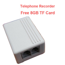 Free 8GB landline TELEPHONE monitor,micro SD card telephone recorder,Landphone monitor recorder voice activated voice recorder