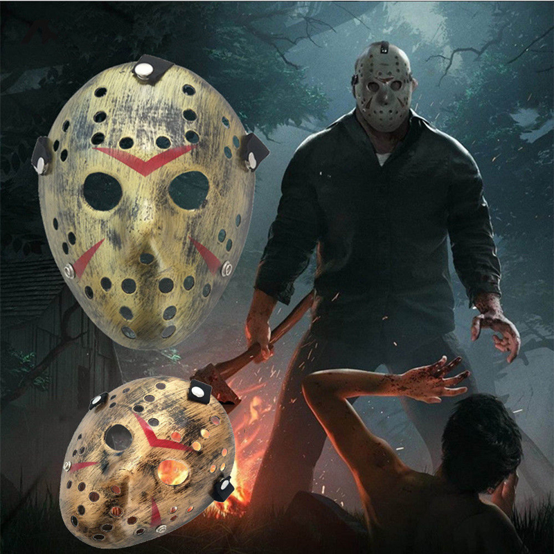 Jason Voorhees Friday The 13th Horror Movie Hockey Mask Scary Halloween Masks