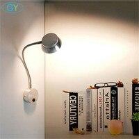 Moderne Nieuwe 5W Led Slang Wandlamp Bedlampje Wandlamp Led Slang Gang Wandlamp Slaapkamer Woonkamer huis Veranda Verlichting-in LED Indoor Wandlampen van Licht & verlichting op
