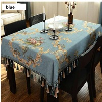 UBRUSH Modern tablecloth Cotton And Linen Table Cover 130*130 cm Waterproof Oilproof For Home Hotel Tablecloth Table Cover