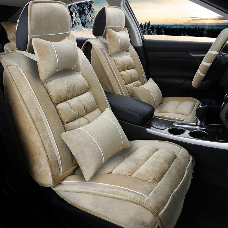 3D Winter Car Seat Cover Cushion Plush Car Accessories for LEXUS,RX, ES, CT ,GX etc ,Car ...