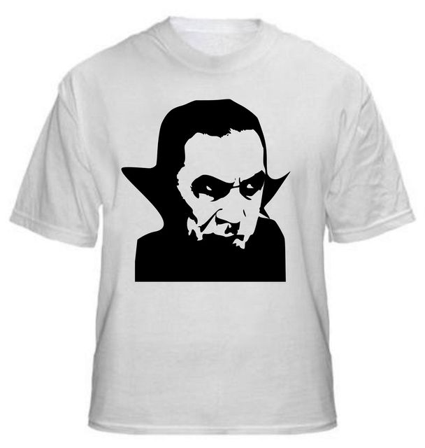 2017 Newest Dracula T Shirt-Vampire Horror Goth Bela Lugosi-All Design  Men s Tee c0b91bdba