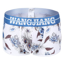 Mens Boxer Shorts Underwear Cotton Floral Male Boxers Sexy Men Bermudas De Marca