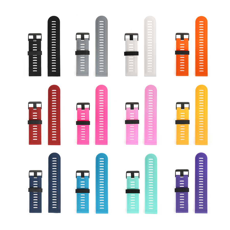 50pcs Replacement Silicone Watchband Strap for Garmin Fenix 3 / Fenix 3 HR / Fenix 5X GPS Watch With Tools Wristbands gps навигатор garmin fenix