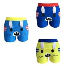 H maillot de bain garcon enfant плавки для мальчиков на шнурке водонепроницаемые Короткие штаны пляжная одежда, купальники