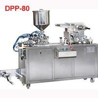 DPP 80 Жидкость Блистерная упаковка машины Плоский Вакуумный Еда герметики 30 80 мм (настраиваемый) доставка по морю 220 В/380 В