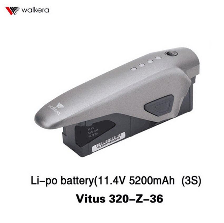 Walkera Original VITUS 320 Peça De Reposição Vitus320-Z-36 Li-po bateria (11.4 V 5200 mAh (3 S)) VITUS 320 Drone Peças De Reposição Vitus 320-Z-3