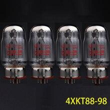 จัดส่งฟรี 4Pcs Shuguang KT88 98(GEKT88,KT88 Z,KT88 T) ที่จับคู่คู่ไฮไฟเสียงหลอดสูญญากาศ