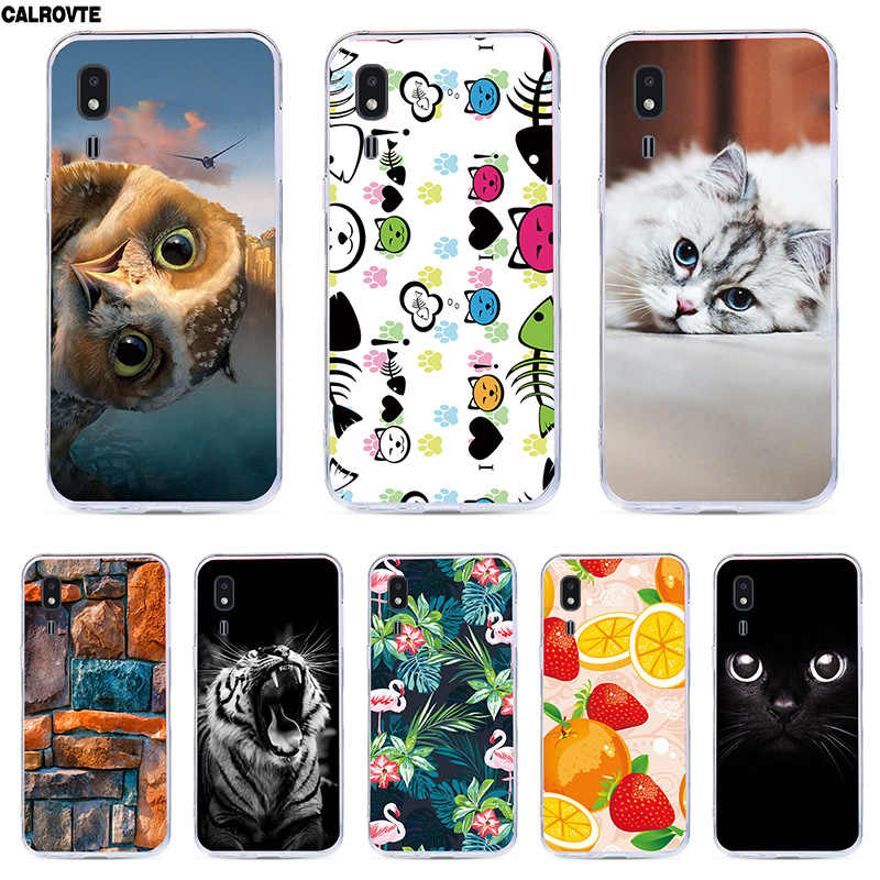 For Samsung Galaxy A2 Core Case Silicone Soft TPU Painting Animal Back Covers For Samsung Galaxy A2 Core SM-A260F SM A260F