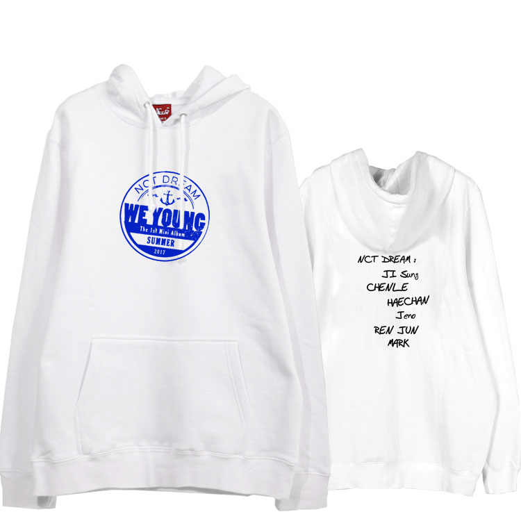 Nct Dream Hoodie NCT DREAM We Young Hoodies Over Size Cotton