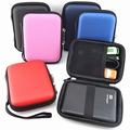 Portable estuche para disco duro externo Zipper External 2.5 HDD Case Pouch Hard  2.5 GPS Hard Disk Drive hdd hard case GH1328