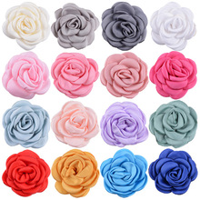 Yundfly Vintage 10pcs Curling Flowers DIY Baby Accessory Wedding Decoration Flower No Hairclip Headband Hair Accessories