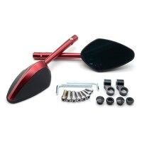 for 1Pair Universal Motorcycle CNC Aluminium Backup Rearview Mirrors accessories mirror For Suzuki HAYABUSA GSXR1300 1999 2007