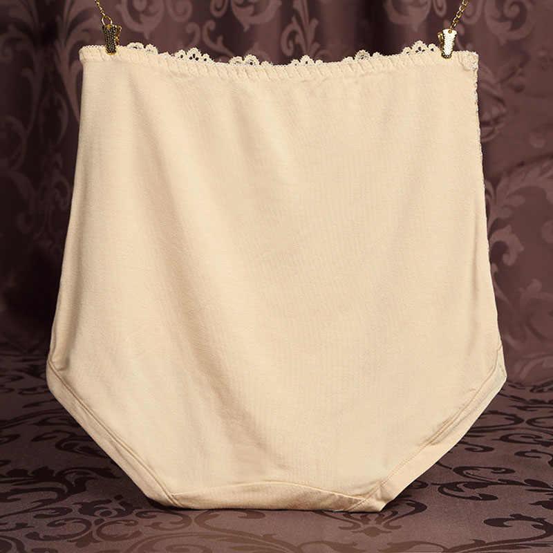 Frauen spitze druck mode höschen Hohe-aufstieg dot solid Body sculpting Bauch dame unterweist hohe qualität bunte einfachen slip